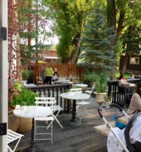 Persephone Bakery deck