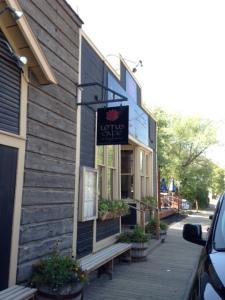 Lotus Cafe Exterior